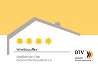 4 Sterne für Ferienhaus Alex
